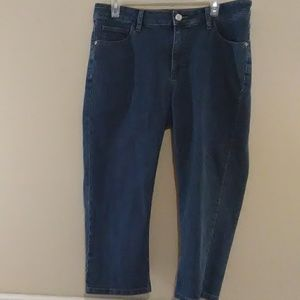 Lee Classic Fit Cropped Jeans